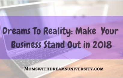 Make Your Business Stand Out in 2018