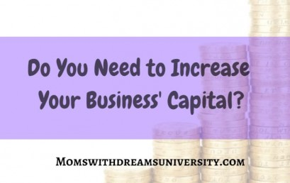 Do You Need To Increase Your Business' Capital?