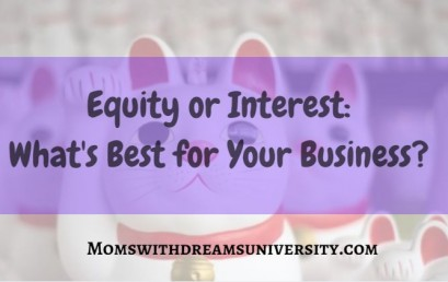 Equity or Interest: What's Best for Your Business?
