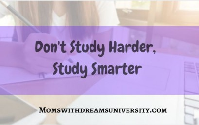 Don't Study Harder, Study Smarter