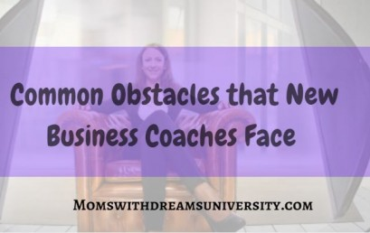 Common Obstacles that New Business Coaches Face
