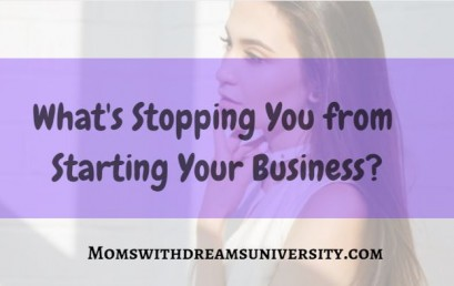 What's Stopping You from Starting Your Business?