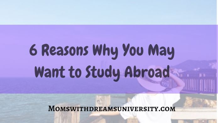 6 Reasons Why You May Want to Study Abroad