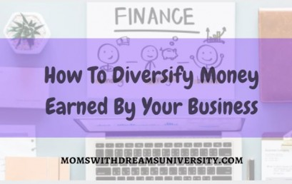 How To Diversify Money Earned By Your Business