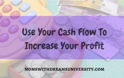 Use Your Cash Flow To Increase Your Profit