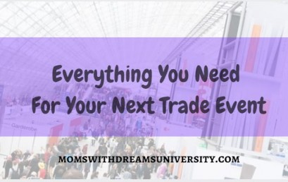 Everything You Need For Your Next Trade Event