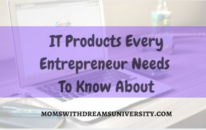 IT Products Every Entrepreneur Needs To Know About
