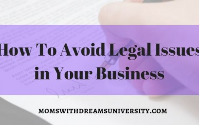 How To Avoid Legal Issues In Your Business