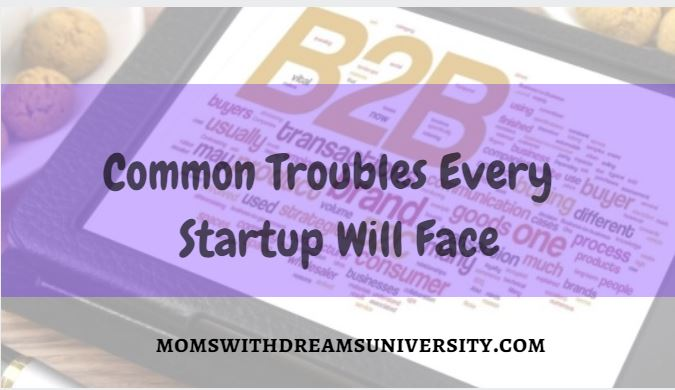 Common Troubles Every Startup Will Face